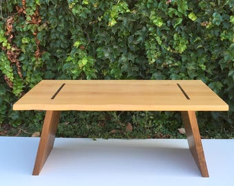 Live Edge Meditation or Low Seated Coffee Table
