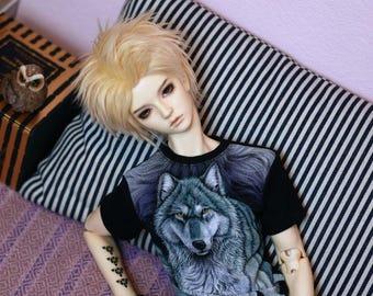 SD BOY Black wolf T-shirt