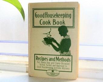1935 Good Housekeeping Cook Book Vintage Cookbook