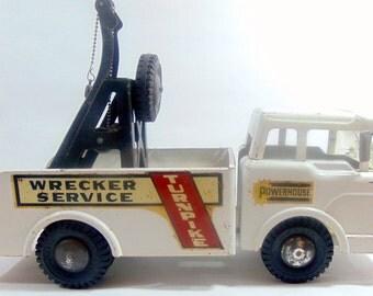 1960s, Marx, Marx Toys, Marx Toy Trucks, Tow Truck, Vintage Toys, Vintage Toy Trucks, Toy Truck, Pressed Steel Toy, Pressed Steel