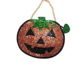 Custom Pumpkin Clutch