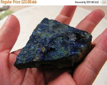 ON SALE 10 percent off Azurite crystal mineral, gemstone, healing stone, rock #1