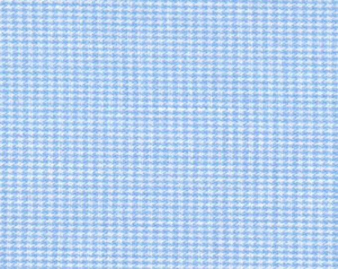 """Gingham/ Blue Gingham / Small Gingham / 1/16"""" Gingham / 100% Cotton / 60"""" wide / Fabric Finders /"""