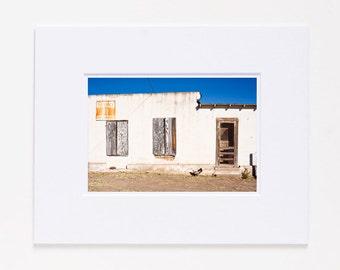 Dallas Street Chicken Marfa Texas Fine Art Photography Print SALE