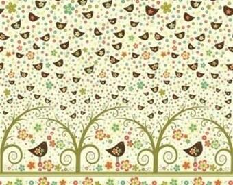 Newcastle fabrics-- Tweet - Birds