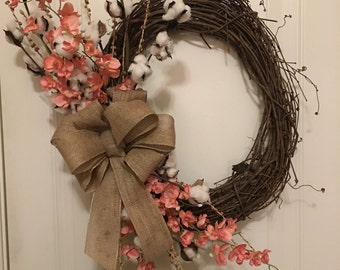 Beautiful Southern Spring Wreath