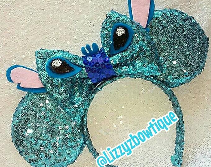 Lilo and Stitch, Stitch Sequin Minnie ears
