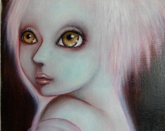 "Original Small Painting ""Robe of Heaven"""