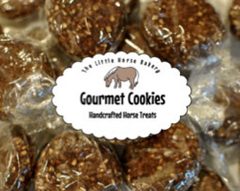 Shipping Included - Gourmet Cookie Horse Treats - 15 Large Cookies