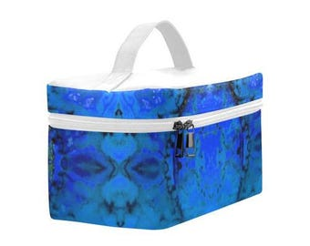 Artistic Insulated Lunch Bag-large insulated lunch box- customizable- Back to school-6.30''x10.63''x5.51''-nice gift for adults and kids