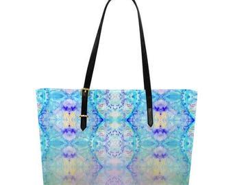 Artistic tote bag special summer or week-end- large handbag-overnight travel bag- many pockets- customizable- registered or express mail