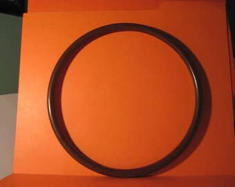 """Round 8"""" Brown Plastic Hoop / Ring / Craft Project Supply 1 Pair"""