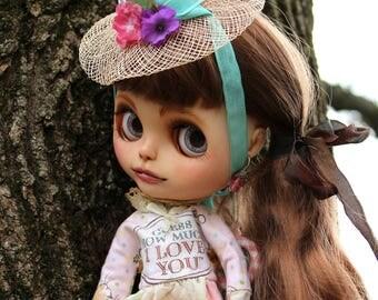 Blythe Spring Dress I Love You Pink with Hat