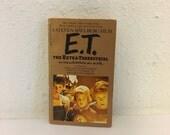 Vintage Book, E.T. Movie Novelization by William Kotzwinkle, 1982, ET Book