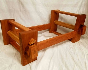 Cherry card tablet weaving loom