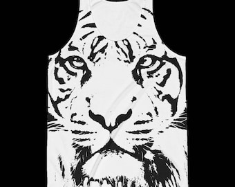 Tiger Tank Top, Tiger Shirt, Animal Shirt, Animal Tank Top, Cat Tank Top, Wildlife Tank Top, Tiger Tank Top