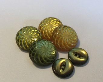 Vintage Plastic Buttons....