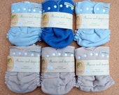 Sale! 6pc merino wool diapers covers only 111USD for cloth diaper / cloth nappy wraps / diaper cover / diaper set / pack / size XL