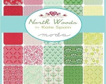 On Sale North Woods Fat Quarter Bundle by Kate Spain for Moda - One Fat Quarter Bundle - 27240AB