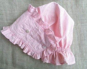 Vintage Sunbonnet Small or Child Size Great to Use As Pattern Homesewn