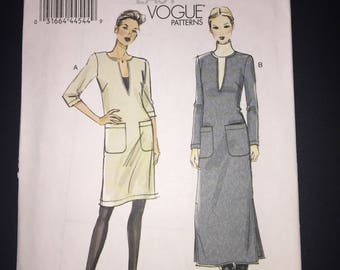 Vogue Sewing Pattern 8824 Misses and Misses Petite Dress Size 16-26