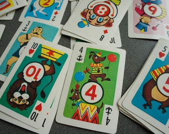 Great Graphics Vintage Go 1950s Crazy Eights Card Game, by Whitman