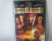 DVD Movie Pirates of the Caribbean The Curse of the Black Pearl - Used