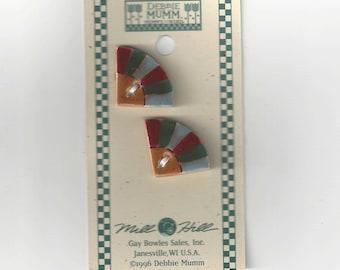 Clearance - Debbie Mumm Dresden Plate Button Set #43067