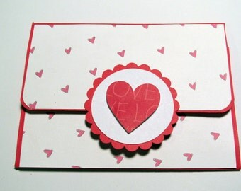 Valentines Day Gift Card Credit Card Holder