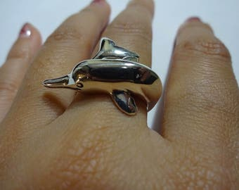 Fresh Water Dolphin Ring