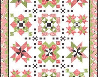 My Secret Garden Block of the Month Quilt Kit  by This and That