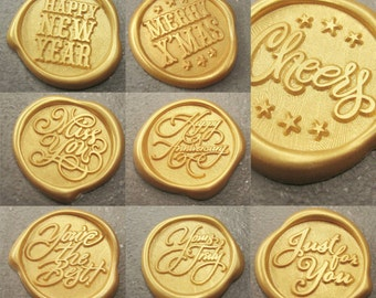 23mm Self-Adhesive Wax Seal Sticker (12 Pieces)