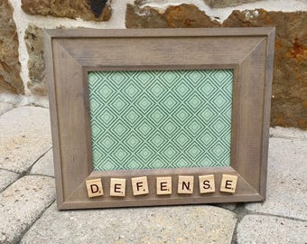 DEFENSE ~ Lacrosse Picture Frame
