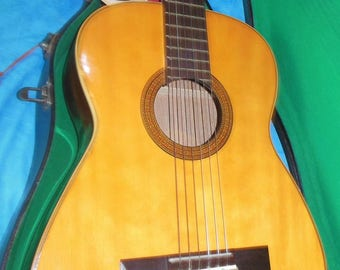 """1968 """"Del Rey"""" Classical Guitar/SALE PRICE posted"""