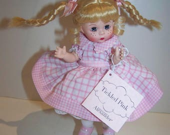 Tickled Pink madame Alexander 8 in doll