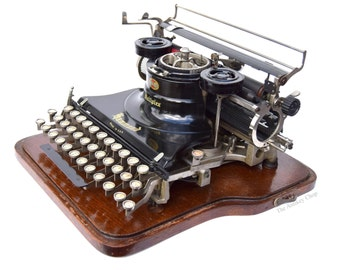 Stunning Antique Hammond Multiplex Typewriter w/Case