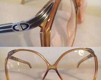 1980s Christian DIOR oversized reading glasses, model #2104