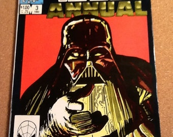 Vintage 1983 star wars annual no. 3 marvel comic book