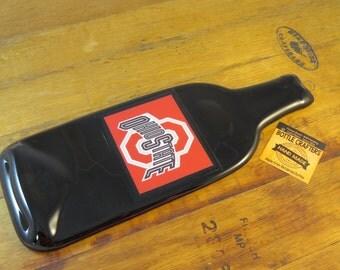 Ohio State Buckeyes Flattened Bottle