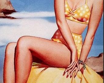 Fragrance Oil YELLOW POLKA DOT Bikini - Sexy Summer Fragrance Oil - Fragrances - Playful Summer Oils - Perfume Oil - Buy 5 Get 1 Free