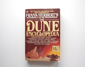 The Dune Encyclopedia - Dr. Willis E. McNelly - Rare Paperback Edition - Out Of Print