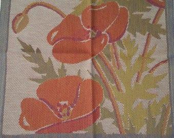 Poppies Tea Towel Tapestry Ekelund Pillow Cover
