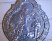 Beautiful Vintage Saint (Blessed) Martin de Porres Medal - circa 1950s/60s