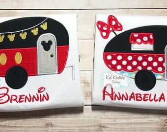 Mickey/Minnie Camper shirt