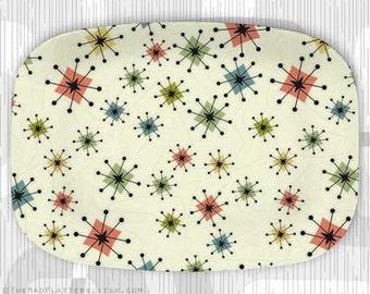 No. 2 Atomic Era melamine platter
