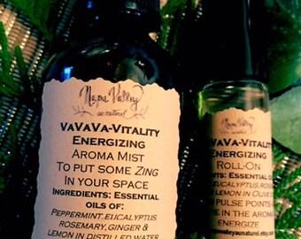 VaVaVa Vitality Aroma Mist & Roll-on