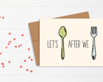 Funny Love Card // Naughty Relationship Card // I Love You Card // Funny Relationship Card // Anniversary Card // Valentine's Day Card