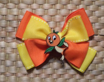 Orange Bird /  Hair Bow