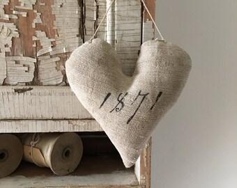 Primitive Grainsack Heart~ 1871