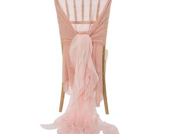 Chair Covers, 1DAYSHIP, Blush Chair Cover, Chiavari, Ballerina, Mothers Day, Bride, White, Ivory, Baby Shower, Quinceaneras, Sweet 16,
